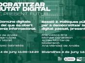 Jornada: Democratitzar la Ciutat Digital: passat, present i futur