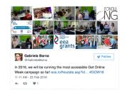 Storify de la GOW2016