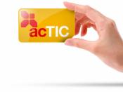 Imatge del carnet ACTIC