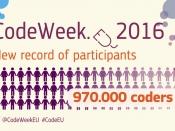 Rècord de participació a Code Week EU 2016: 970.000 persones
