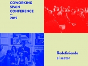 Imatge de difusió de la Coworking Spain Conference 2019