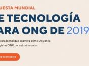 Nonprofit Tech for Good llança l`Enquesta Mundial de Tecnologia per a les ONG 2019