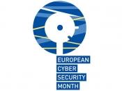 Logotip del `Mes Europeu de la Ciberseguretat`
