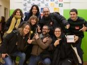 Participants a l`acte de presentació d`EDhack Raval