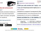 Informació sobre la segona edició de l``Innobus Metropolità`