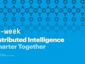 `Distributed intelligence. Smarter together` és el lema de la 15a edició de l`e-week