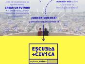 Cartell de l`Escuela Cívica