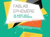 Cartell de Fablab Ephémère