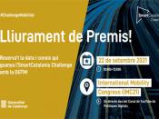 Acte de lliurament de premis de la Final de la 9a edició de l`SmartCatalonia Challenge