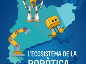 Part de la portada de l`Estudi de l'ecosistema de la robòtica a Catalunya