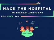 "Hackató ""Hack the Hospital – 5G Transatlantic Lab 2021"""