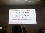 Presentació de la Taula d'entitats del Tercer Sector Social de Catalunya al MWC18