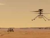 Imatge de l`helicòper Mars Ingenuity
