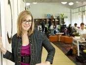 Liz Elam a Link Coworking