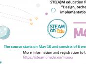 Curs gratuït per a persones educadores STEAM