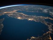 Imatge de la Terra vista des de l`Espai exterior
