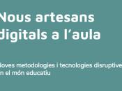 Part de la portada del recull de materials del curs `Nous artesans digitals`