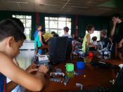 Participants a la 17a edició del Robolot