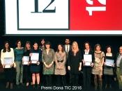 Foto de grup del Premi Dona TIC 2016