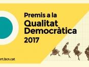 Premis a projectes innovadors per a la qualitat democràtica 2017