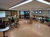 Imatge de la passada sessió del procés d`Òmnia al Casal Cívic Lleida - Blocs Joan Carles