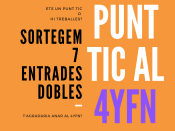 Cartell del concurs `Punt TIC al 4YFN`