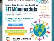 Imatge del projecte STEMConnectats de l`entitat social Sistema THEAD