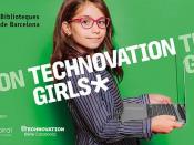 Imatge per difondre les sessions a les biblioteques de la Technovation 2020