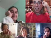 El 23 d`abril, les noies de la Technovation Girls Catalonia presenten els seus projectes