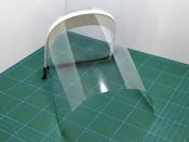 Visera de protecció pel personal sanitari creada amb impressora 3D