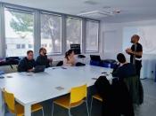 Visita dels tècnics i tècniques de CoEbreLab a CoboiLAB