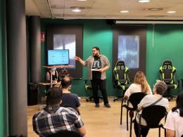 Acte d`inauguració del Centre d`Alt Rendiment en esports electrònics de Sant Feliu