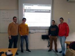 Alumnes de l`IES Carles Vallbona