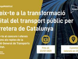 Banner del SmartCatalonia Challenge 2021
