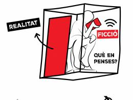 Imatge de la  campanya de sensibilització per l'ús responsable de la tecnologia
