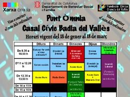 Obertes inscripcions als cursos del PO de Badia del Vallés