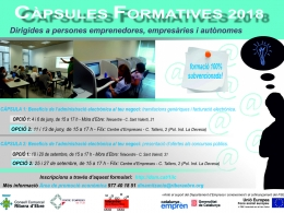 Càpsules formatives 2018