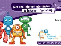 Cartell d`Internet Segura pel Dia de la Internet Segura 2019