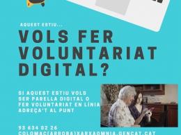 Santa Coloma de Cervelló promou el voluntariat digital