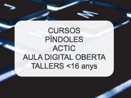 Oferta formativa de la Biblioteca Roca Umbert de Granollers