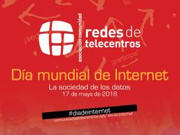 Activitats de la Comunidad de Redes de Telecentros del Dia d`Internet