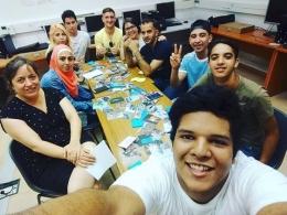 Participants de la primera edició del curs `Digital Welcome` a Colectic
