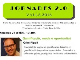 Jornades 2.0 de Valls: Gamificació