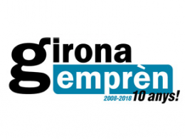 Logotip de Girona Emprèn 10 anys