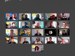 El passat dijous 16 d`abril els makers de la xarxa vam compartir experiències