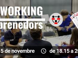 Cartell de la sessió `Networkig emprenedors`
