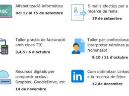 Tallers TIC per a la recerca de feina, a l`IMO Lleida