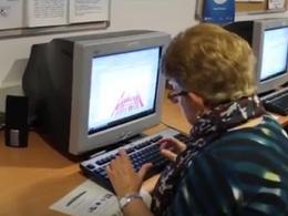 Fotograma del vídeo publicat per la Xarxa Òmnia sobre els 10 anys de l`Òmnia de Sant Vicenç dels Horts
