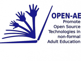 Logotip del projecte `Open AE`