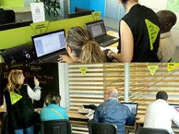 Els/les participants del curs TIC ofert per l`Òmnia EMFO Mollet continuaran formant-se